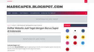 Daftar Website Judi Togel dengan Bonus Super di Indonesia ...