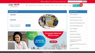 IELTS exam result student login -IELTS IDP INDIA