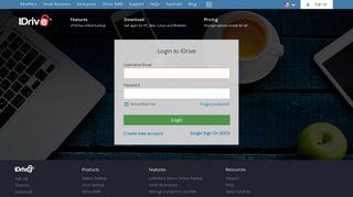 IDrive® - Log in to your IDrive account