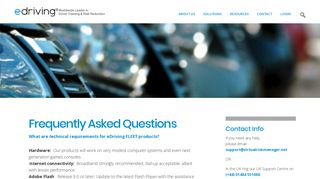 Frequently Asked Questions - eDriving