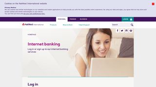 Log in | NatWest offshore - NatWest International