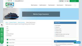 Marine Cargo Insurance   IFFCO Tokio General Insurance Company in ...