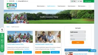 Health Insurance: Buy/Renew Health Insurance Policy ... - Iffco Tokio