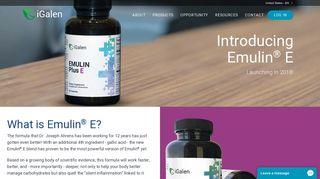 iGalen   Introducing Emulin® E