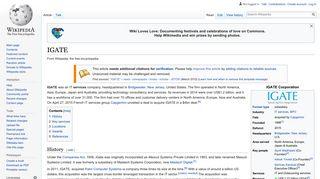 IGATE - Wikipedia