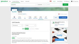 IGATE Employee Benefits and Perks   Glassdoor.ca