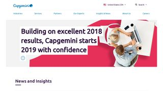 Capgemini: Consulting, Technology, Digital Transformation Services