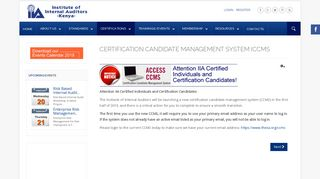 Certification Candidate Management System ... - IIA Kenya Chapter