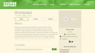 iKompass Reviews | Course Report