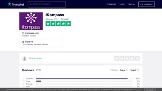 iKompass Reviews | Read Customer Service Reviews of ikompass.com