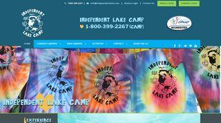 Independent Lake Camp, poconos best co-ed sleep-away summer camp