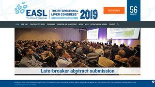 Home - The International Liver Congress™ 2019, EASL 2019