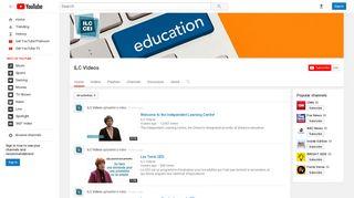 ILC Videos - YouTube