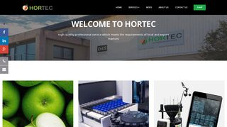 Hortec - Weather Stations, Fruit quality and Analytical services.