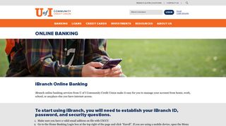Online Banking - U of I Community Credit Union