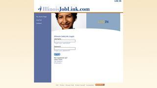 Login - Illinois JobLink
