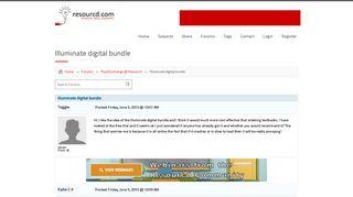 Resourcd | Illuminate digital bundle