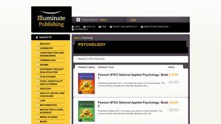 Psychology : Illuminate Publishing, Bright Learning Resources for ...