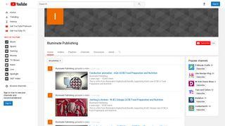 Illuminate Publishing - YouTube