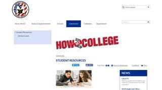 Student Resources | Manteca Unified School District, CA