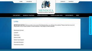 Links - Mendota Unified School District