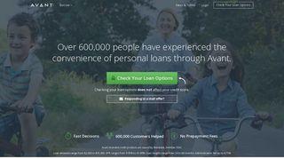 Avant: Personal Loans | Online Loans