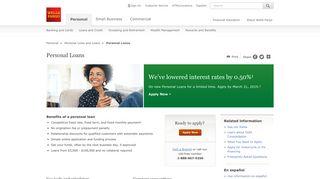 Personal Loans – Wells Fargo