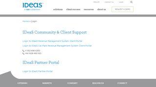 Login   IDeaS - IDeaS Revenue Solutions