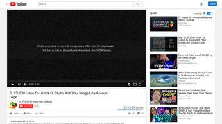 FL STUDIO   How To Unlock FL Studio With Your Image-Line Account ...