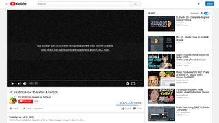 FL Studio   How to Install & Unlock - YouTube