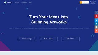 FotoJet: Free Online Graphic Designer   Collage Maker   Photo Editor