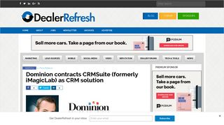 Dominion contracts CRMSuite (formerly iMagicLab) as CRM solution ...