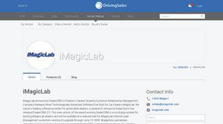 iMagicLab Ratings & Reviews | DrivingSales Vendor Ratings