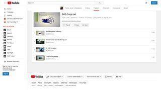 IMG-Corp.net - YouTube