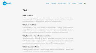 Immail | FAQ