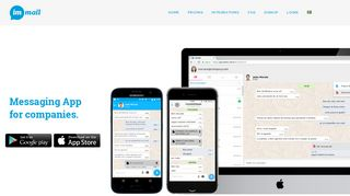Immail | Messaging App for companies.