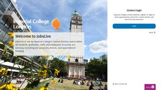 Student login - Login - Imperial College London