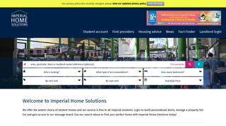 Student accommodation in London - houses homes flats housing