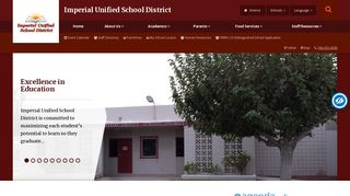 Imperial Unified School District Office - Home