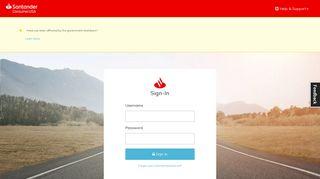 Sign-In - MyAccount - Santander Consumer USA