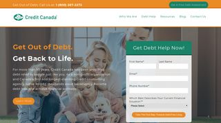 Credit Canada   Non-Profit Debt Consolidation & Credit Counselling