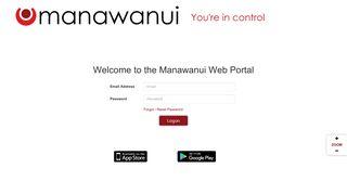 Manawanui Client Portal Login