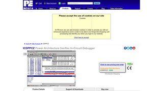ICDPPCZ | Power Architecture 5xx/8xx In-Circuit Debugger | PEmicro