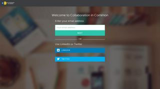 Login to - Collaboration in Common