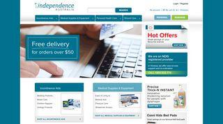 Independence Australia: Medical Supplies & Equipment Online