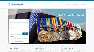 Sign In   RAP Portal