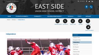 East Side Union High School District - Independence