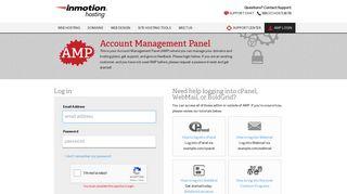 AMP Login - InMotion Hosting