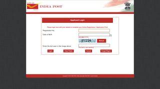 India Post Online Registration