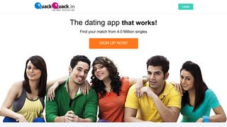 QuackQuack Online Dating — Free Dating Site to Meet Indian Singles!